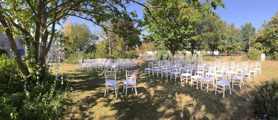 Hochzeitslocation NRW Außenbereich – gesehen bei frauimmer-herrewig.de