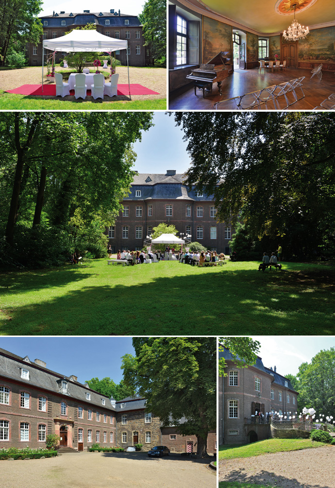 Trauung Schloss Wahn