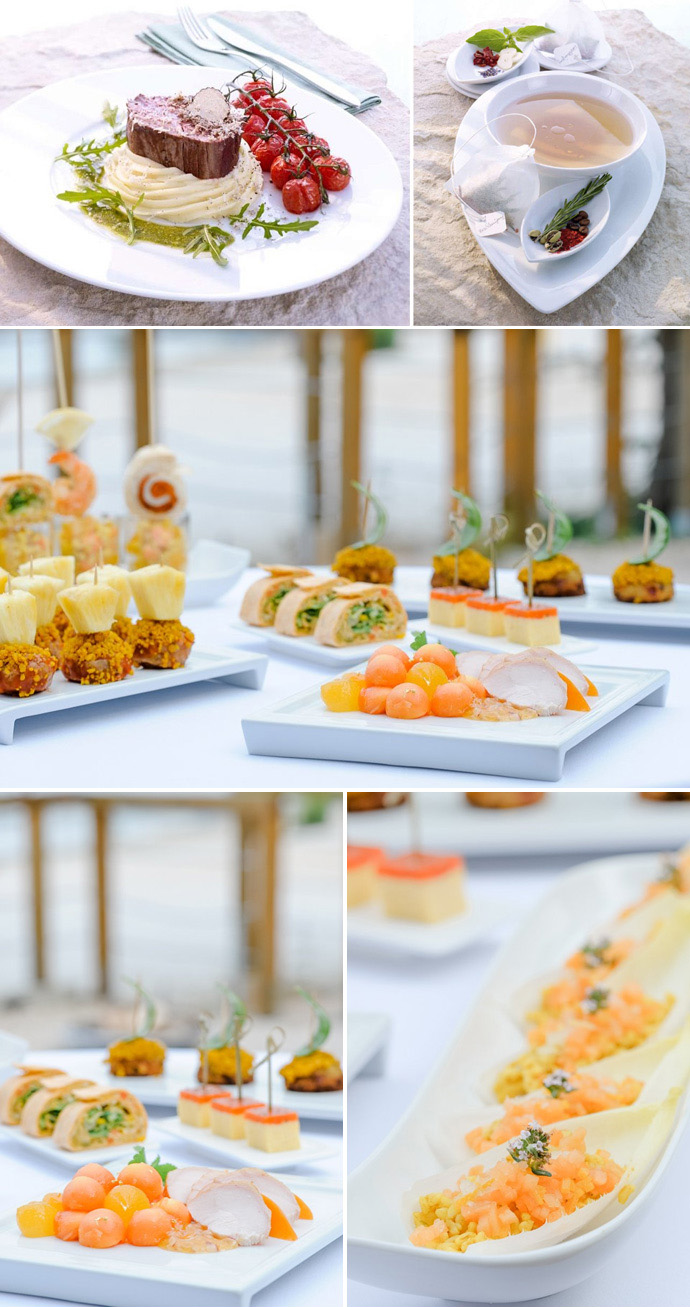 Menue Buffet Kombi Hochzeit