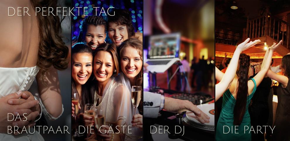 DJ Konzept HochzeitsDJ Der perfekte Tag