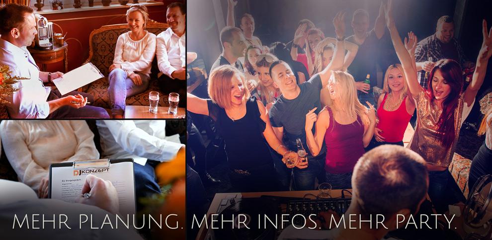DJ Konzept Mehr Planung Mehr Infos Mehr Party