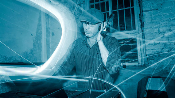 DJ Grooveshaker im Einsatz