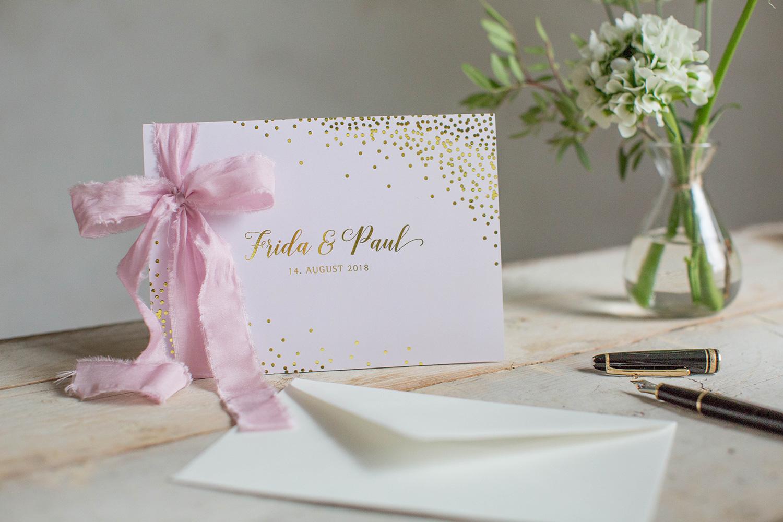 Marry paper hochzeitspapeterie hochzeitskarten sparkle n shine einladung 3890
