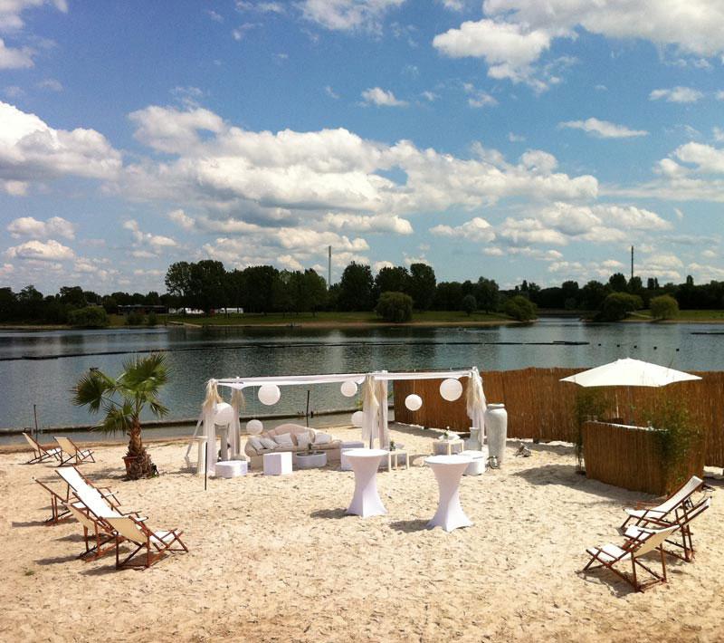 Hochzeit Strand Koeln