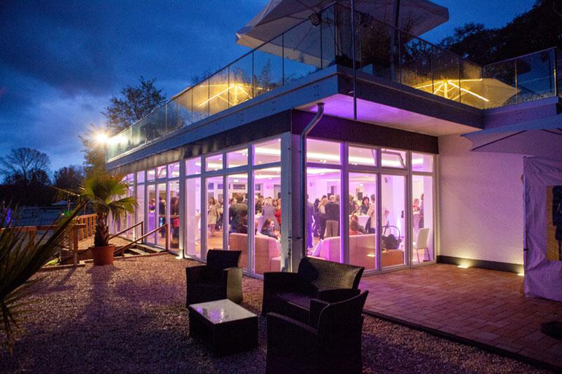 Hochzeitsfeier Koeln Seepavillon