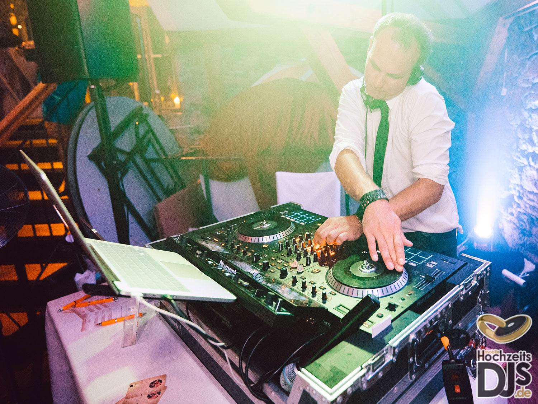 DJ Patrik im Einsatz