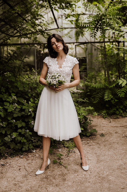 2020 Claudia Heller Brautmode Brautkleid Sina 2