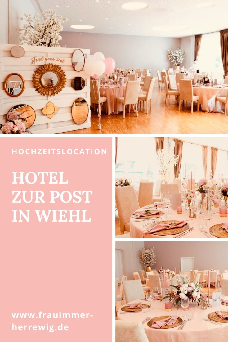 Hotel zur post hochzeitslocation – gesehen bei frauimmer-herrewig.de