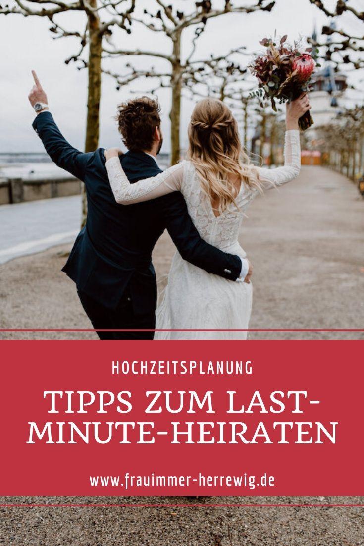 Tipps last minute heiraten – gesehen bei frauimmer-herrewig.de