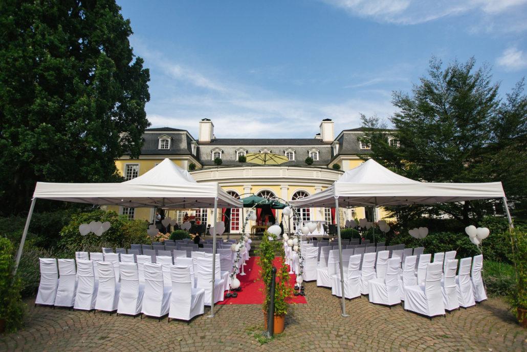 Redoute Bonn Terrasse Hochzeit feier