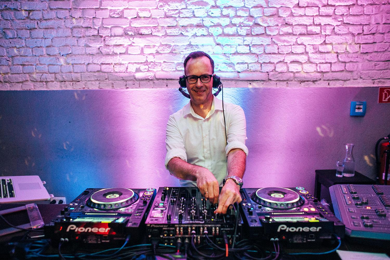 DJ Rene Pera Foto Oliver Bonder
