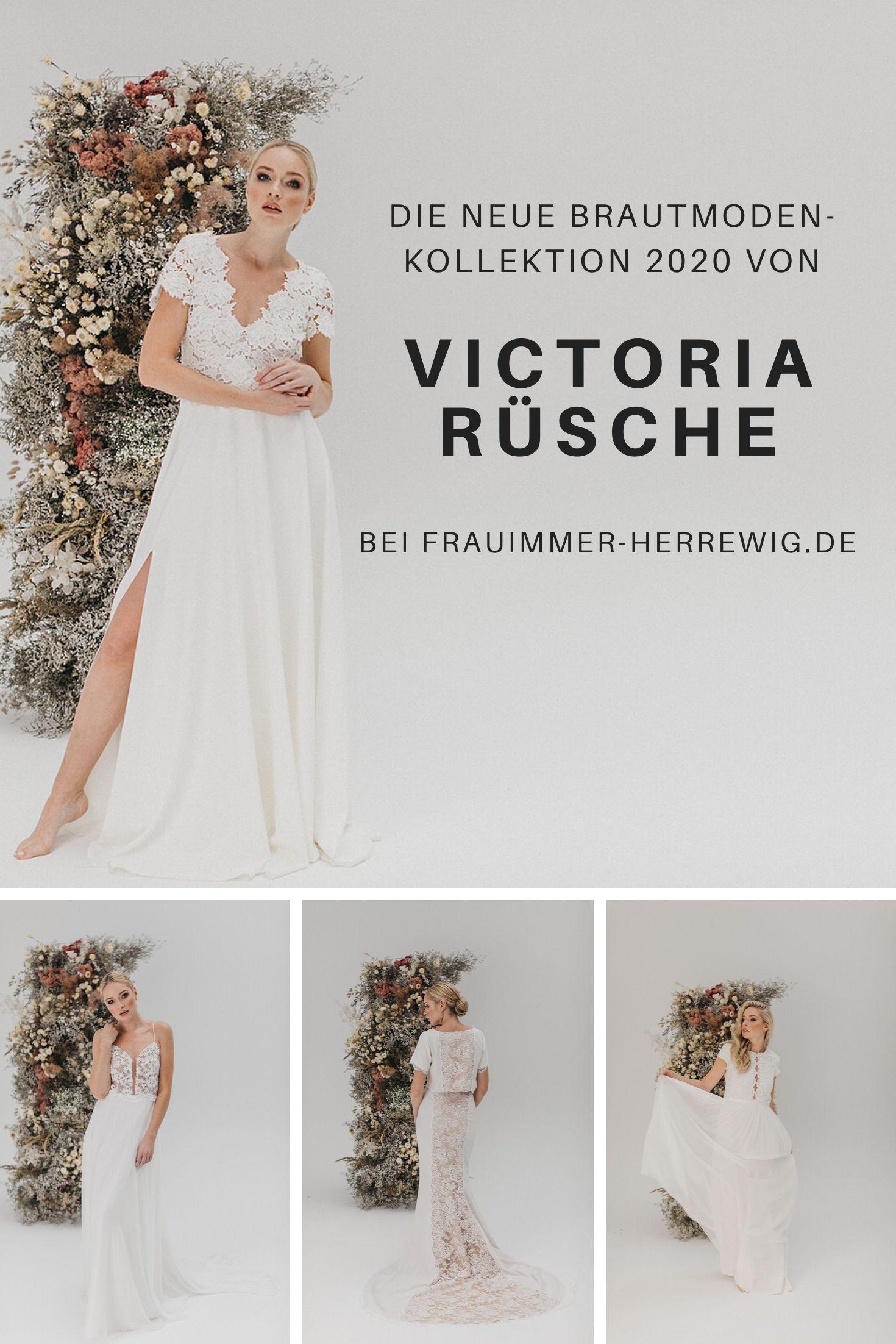 Brautmoden kollektion victoria ruesche – gesehen bei frauimmer-herrewig.de