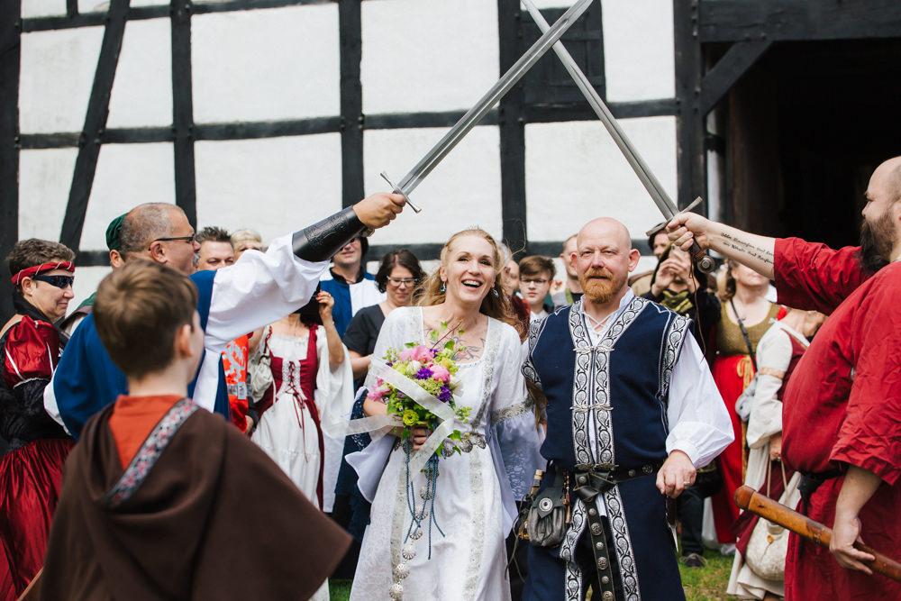 Die Schnappschuetzen Hochzeit Mittelalter 07