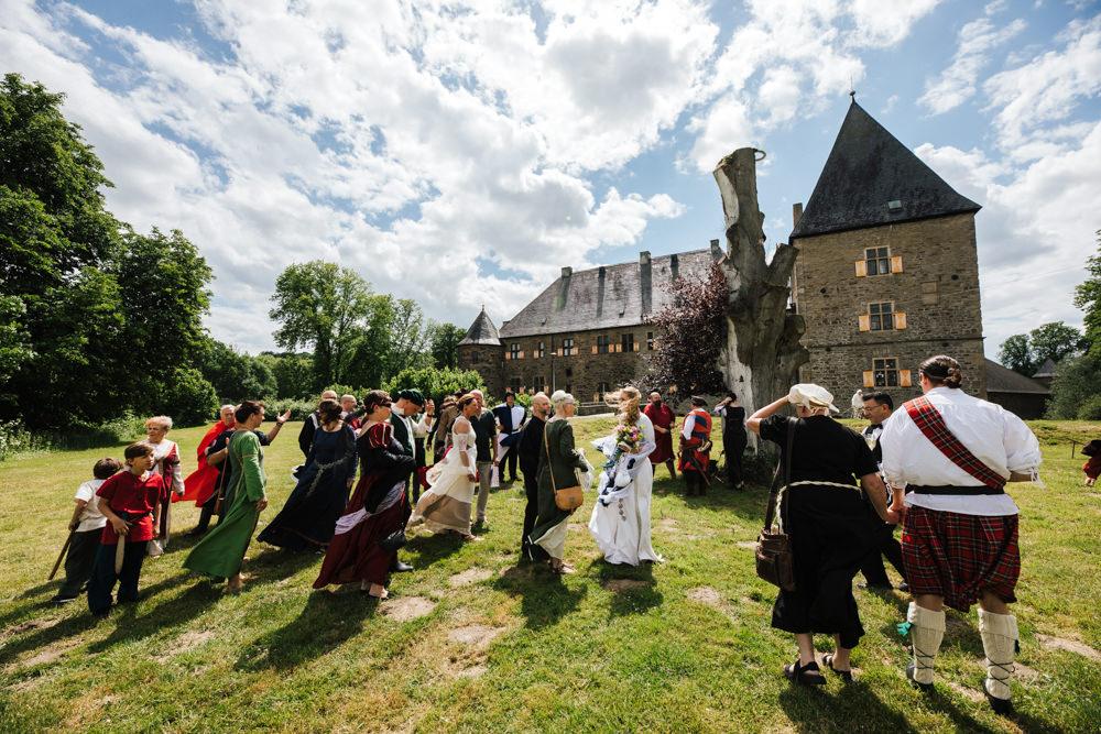 Die Schnappschuetzen Hochzeit Mittelalter 09