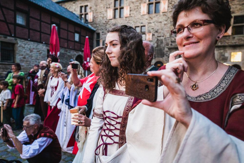 Die Schnappschuetzen Hochzeit Mittelalter 35