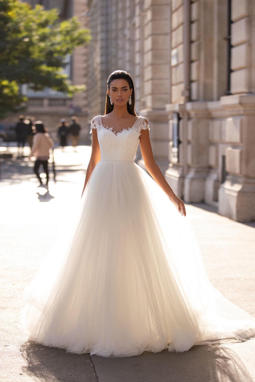 Hochzeitskleid aus Tüll – gesehen bei frauimmer-herrewig.de