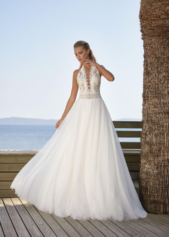 Hochzeitskleid mit A-Linie – gesehen bei frauimmer-herrewig.de