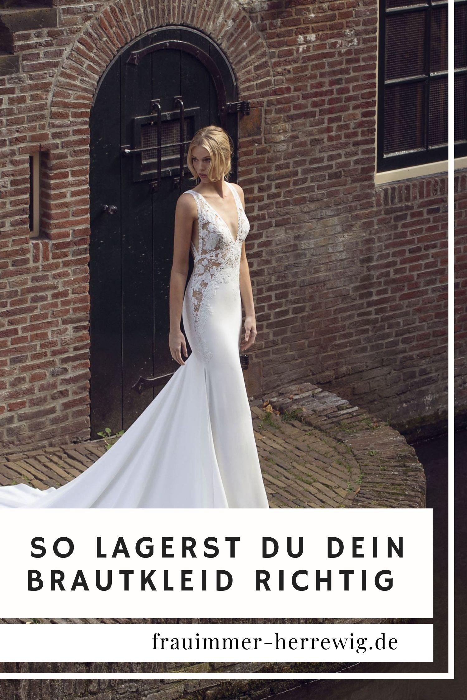 Brautkleid aufbewahrung tipps – gesehen bei frauimmer-herrewig.de