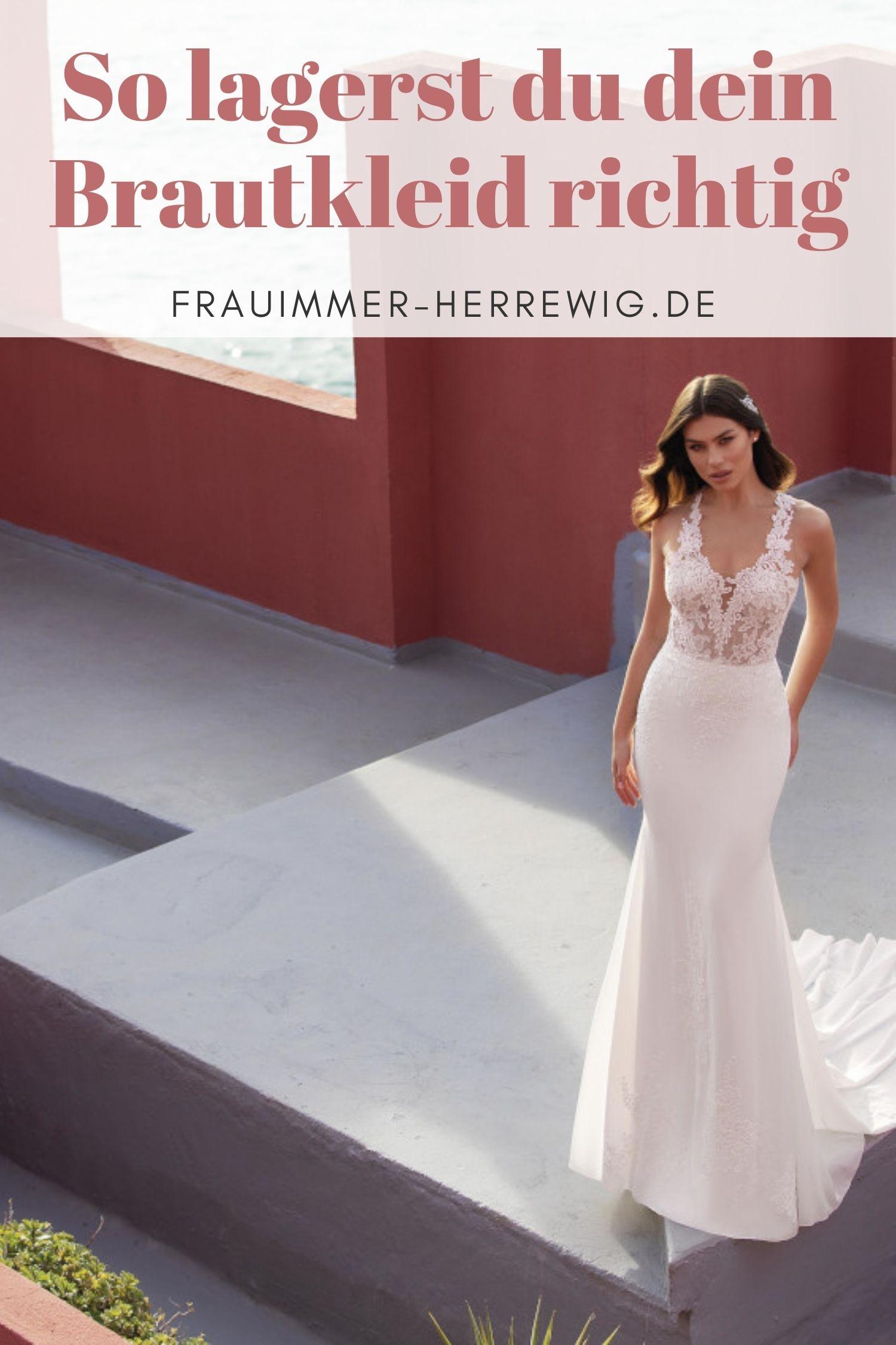 Brautkleid lagerung tipps – gesehen bei frauimmer-herrewig.de