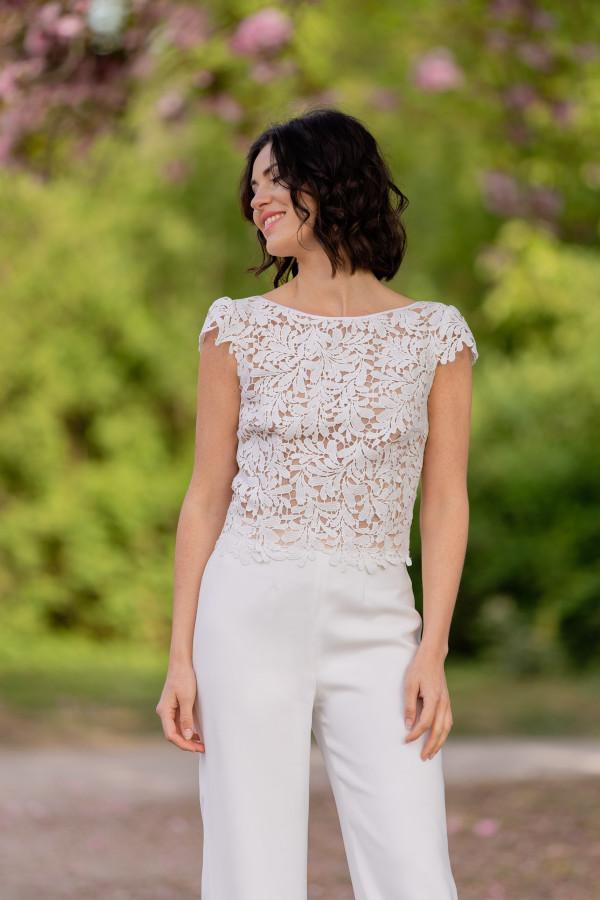 Claudia Heller Modedesign Brautkombination Cherry 4 min – gesehen bei frauimmer-herrewig.de