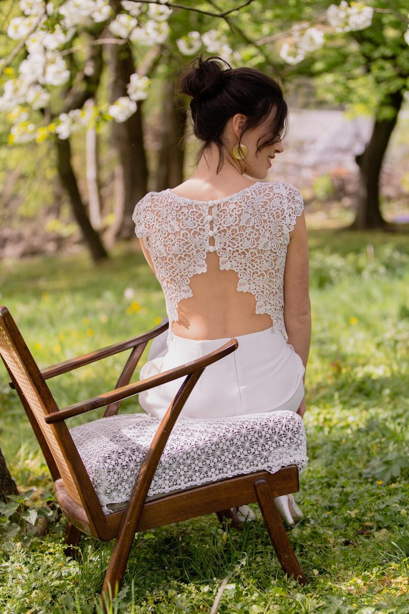 Claudia Heller Modedesign Brautkombination Magnolia 6 min – gesehen bei frauimmer-herrewig.de