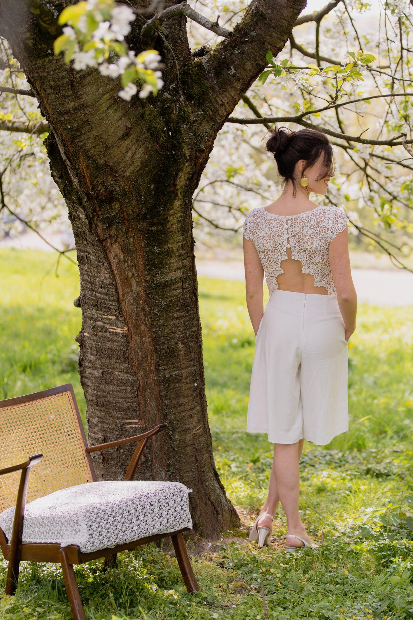 Magnolia Claudia Heller Modedesign Brautkombination – gesehen bei frauimmer-herrewig.de