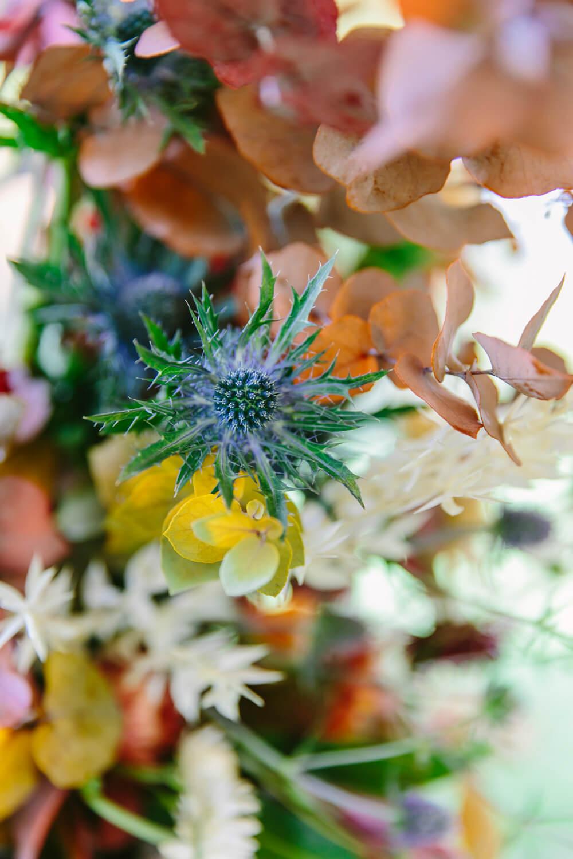 Hochzeitsblumen in Herbstfarben – gesehen bei frauimmer-herrewig.de