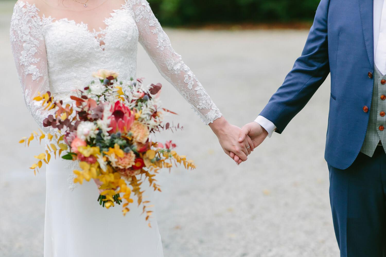 Herbstlicher Brautstrauß – gesehen bei frauimmer-herrewig.de