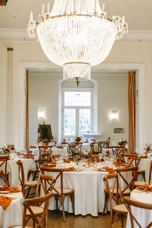 Herbstliche Tischdeko Hochzeit – gesehen bei frauimmer-herrewig.de