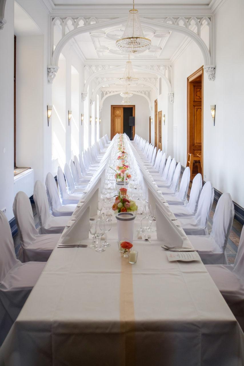 Hochzeitsfeier auf Schloss Arenfels – gesehen bei frauimmer-herrewig.de