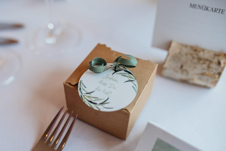 Gastgeschenk Hochzeitspapeterie – gesehen bei frauimmer-herrewig.de
