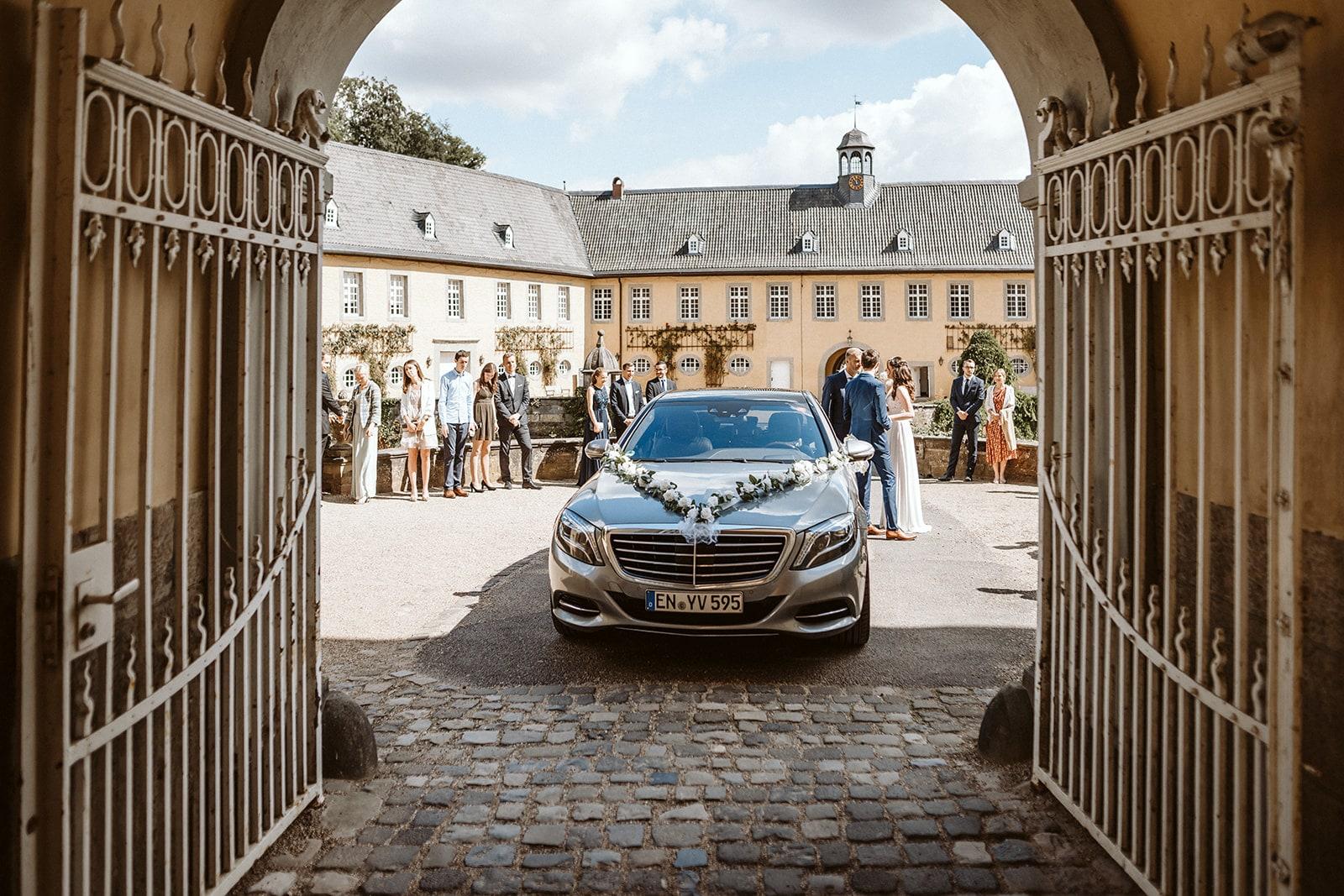 Hochzeitstag Anfahrt – gesehen bei frauimmer-herrewig.de