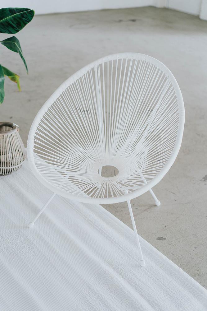Acapulco Chair in weiß – gesehen bei frauimmer-herrewig.de