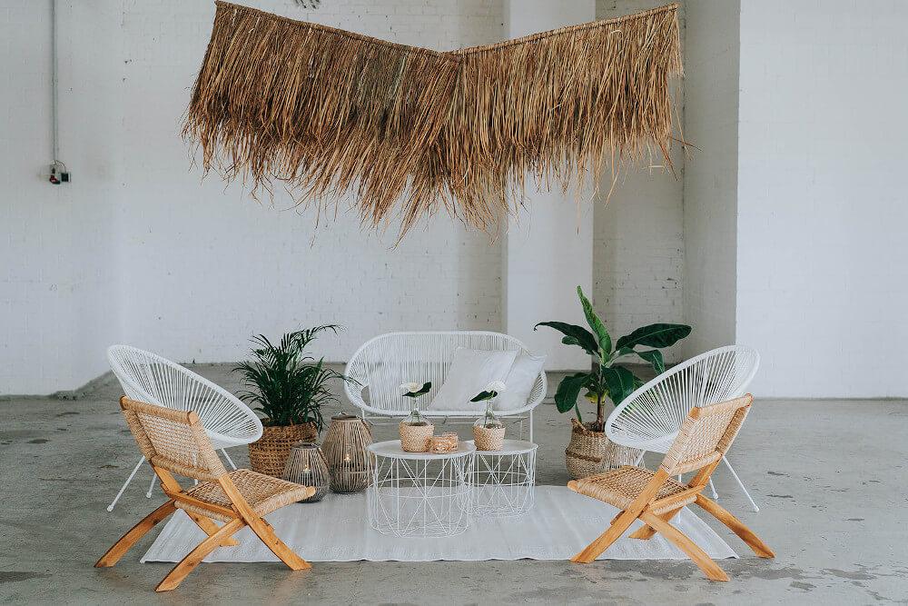 Sitzecke mit karibischen Flair – gesehen bei frauimmer-herrewig.de