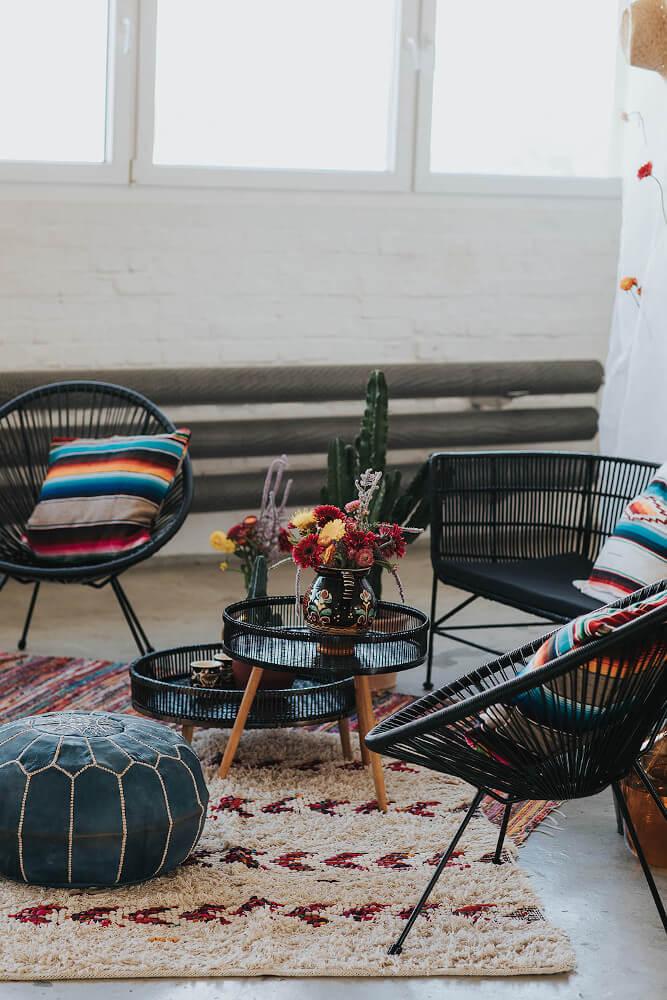 Sitzecke im Mexico Style – gesehen bei frauimmer-herrewig.de