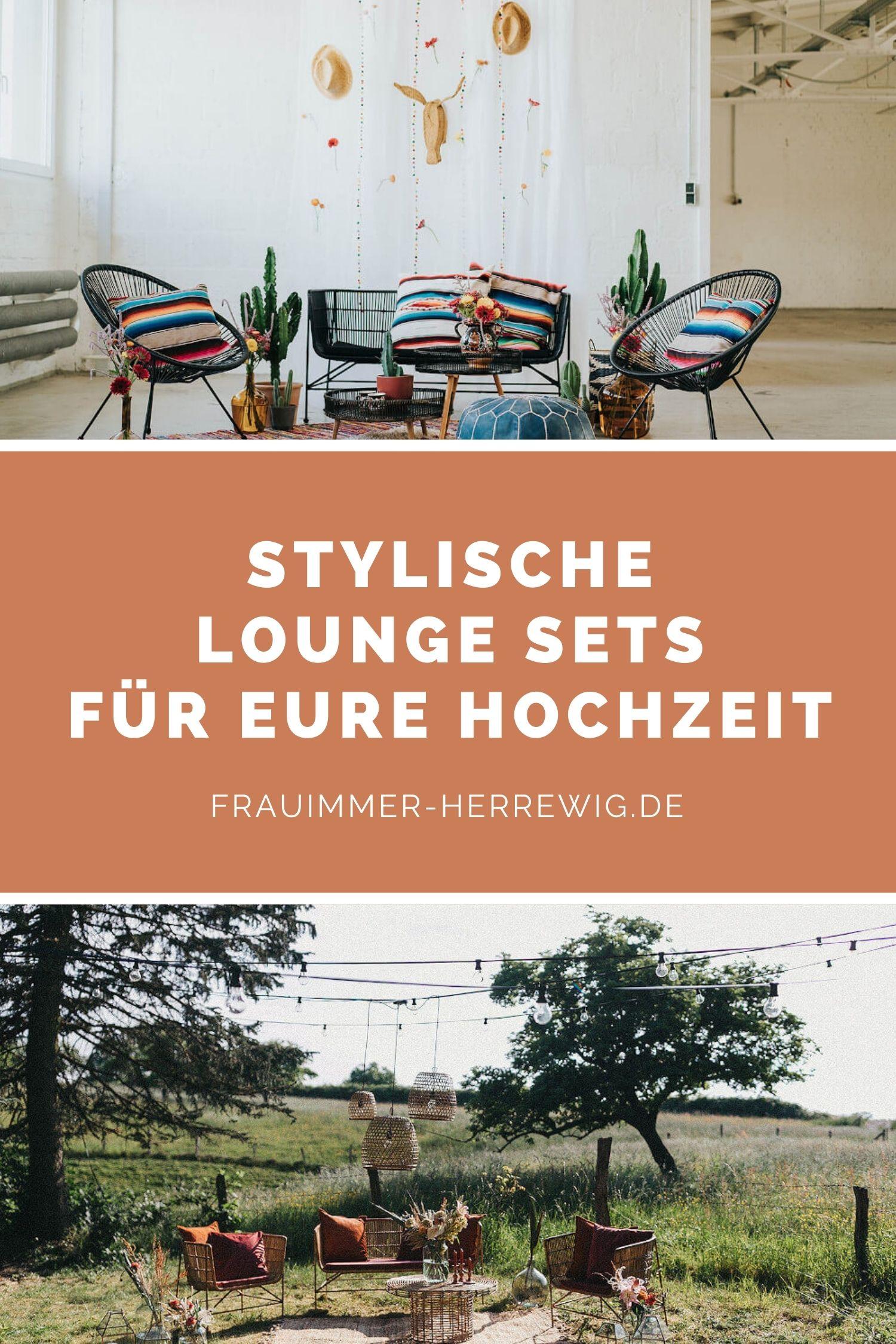 Lounge sets hochzeit – gesehen bei frauimmer-herrewig.de