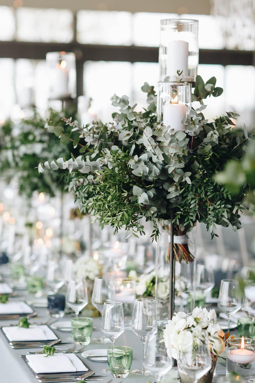 moderne Tischdeko für die Petersilien Hochzeit – gesehen bei frauimmer-herrewig.de