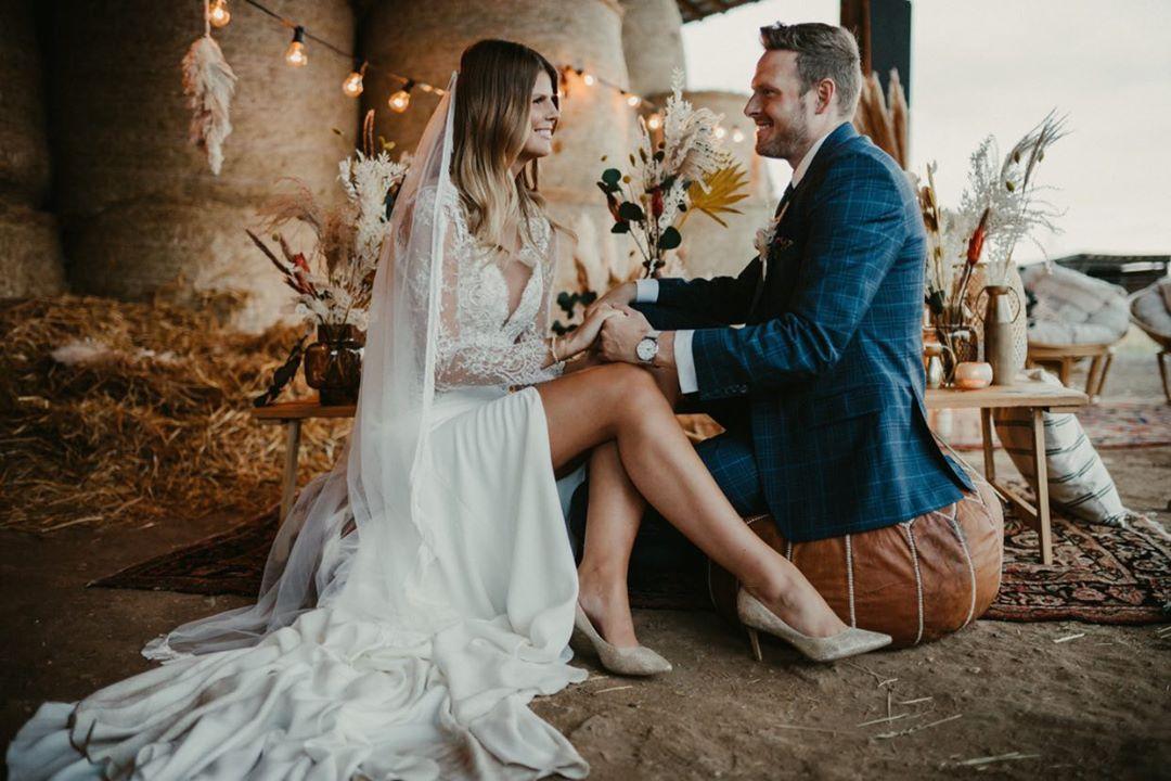 Brautpaar Studio Wedding – gesehen bei frauimmer-herrewig.de