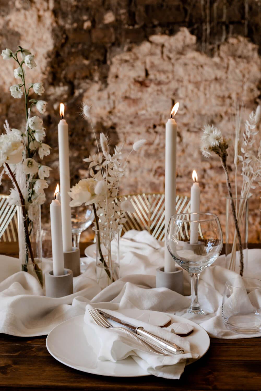 Boho Tischdeko Hochzeit – gesehen bei frauimmer-herrewig.de