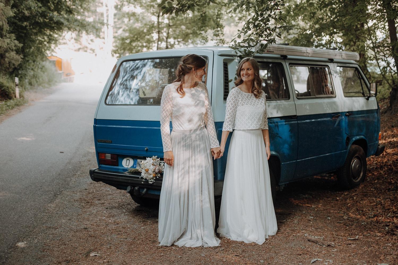 homosexuelles Brautpaar – gesehen bei frauimmer-herrewig.de