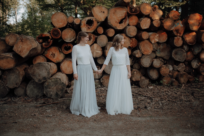 Hochzeit im Wald – gesehen bei frauimmer-herrewig.de