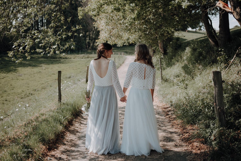 Gleichgeschlechtliche Hochzeit – gesehen bei frauimmer-herrewig.de