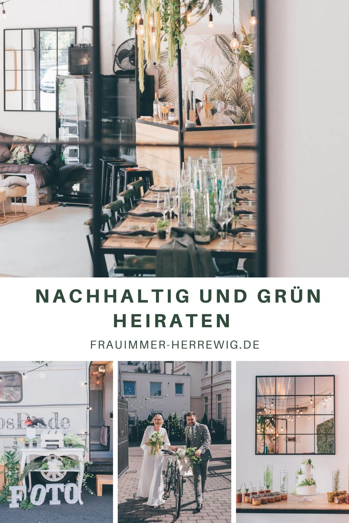 Nachhaltig und gruen heiraten – gesehen bei frauimmer-herrewig.de