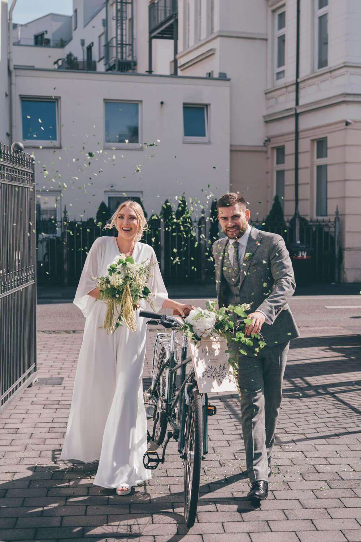 Tandem umweltfreundliche Hochzeit – gesehen bei frauimmer-herrewig.de