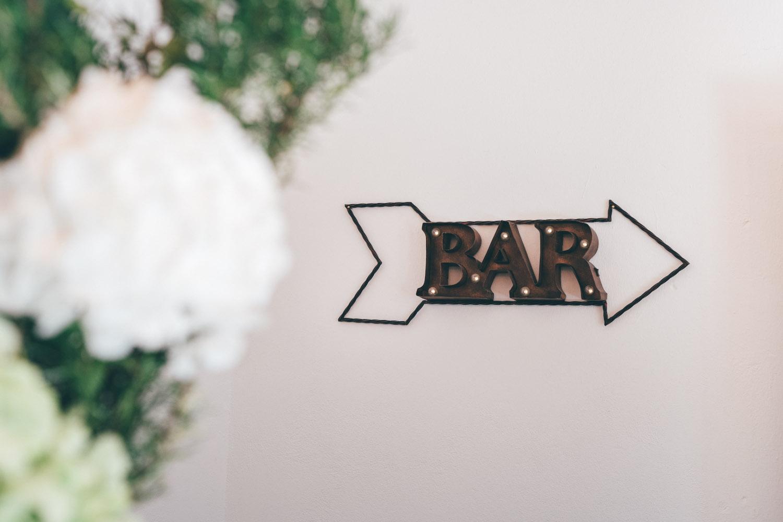 Bar Hochzeitsfeier – gesehen bei frauimmer-herrewig.de