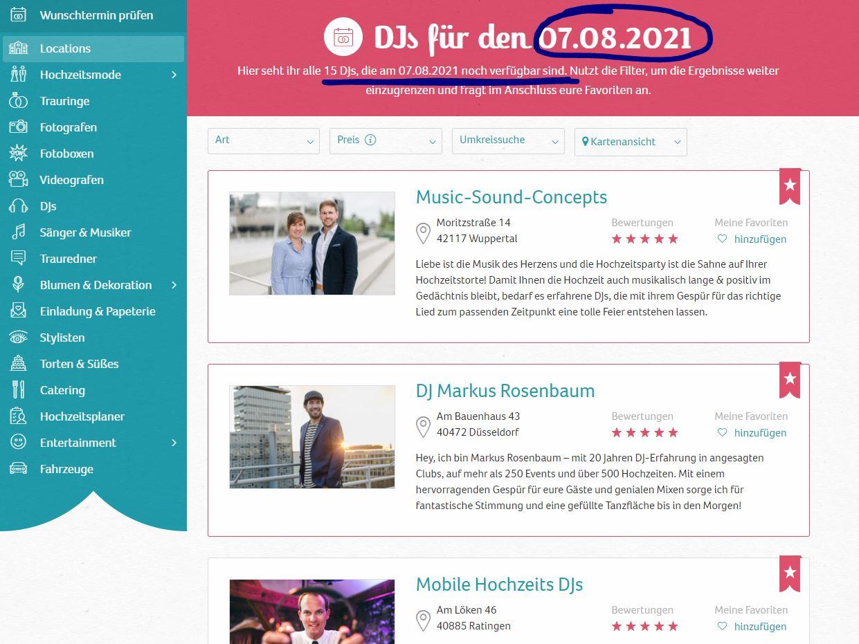 Wunschtermin pruefen Ergebnis – gesehen bei frauimmer-herrewig.de