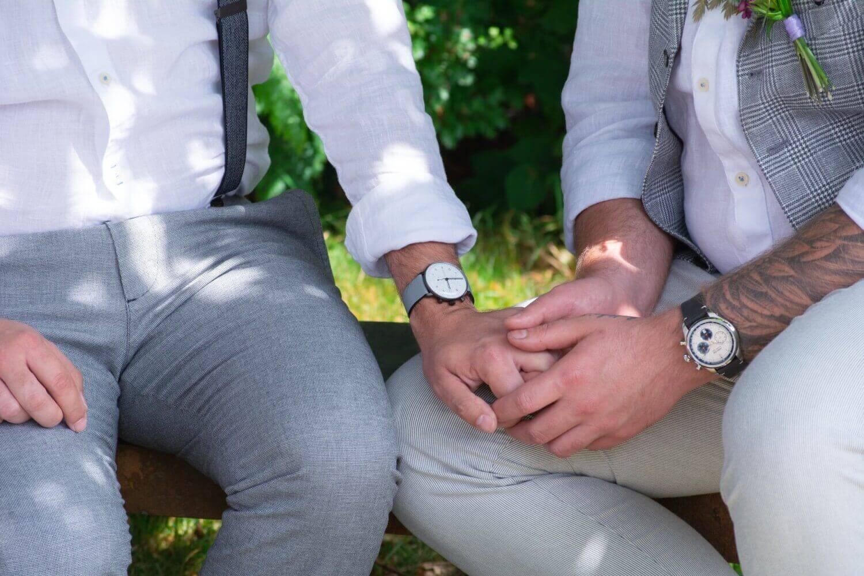 Freie Trauung gleichgeschlechtliches Paar – gesehen bei frauimmer-herrewig.de