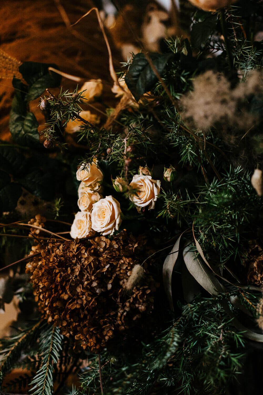 Winterliche Hochzeitsdeko – gesehen bei frauimmer-herrewig.de