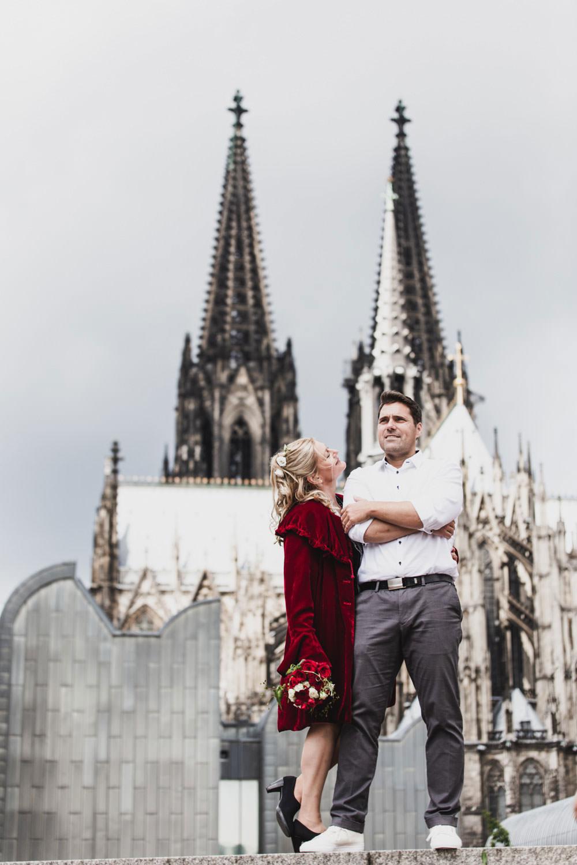 Paarshooting Hochzeit Köln – gesehen bei frauimmer-herrewig.de