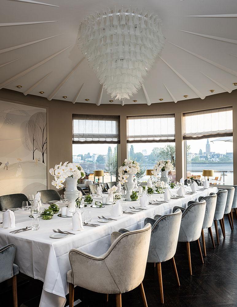 Hochzeitsfeier im AMERON Bonn Hotel Königshof  – gesehen bei frauimmer-herrewig.de